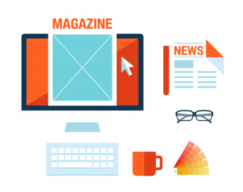 Magazines and newsletters