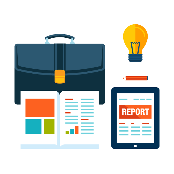 Reports and brochures